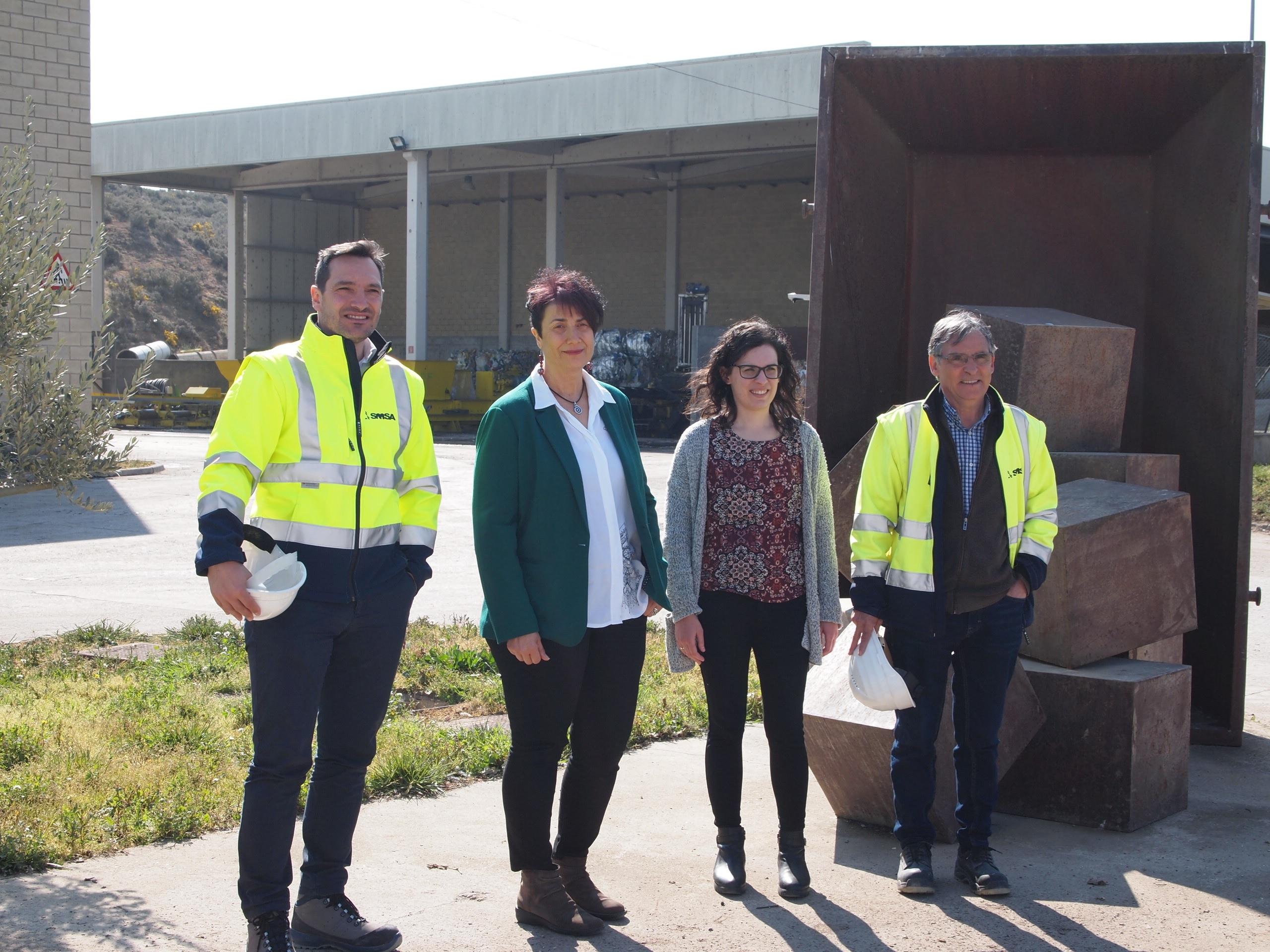 Datos de recogida de residuos en 2018
