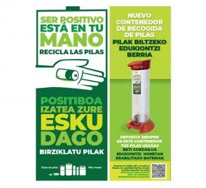Campaña reciclaje de pilas.