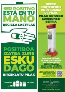 Campaña reciclaje de pilas
