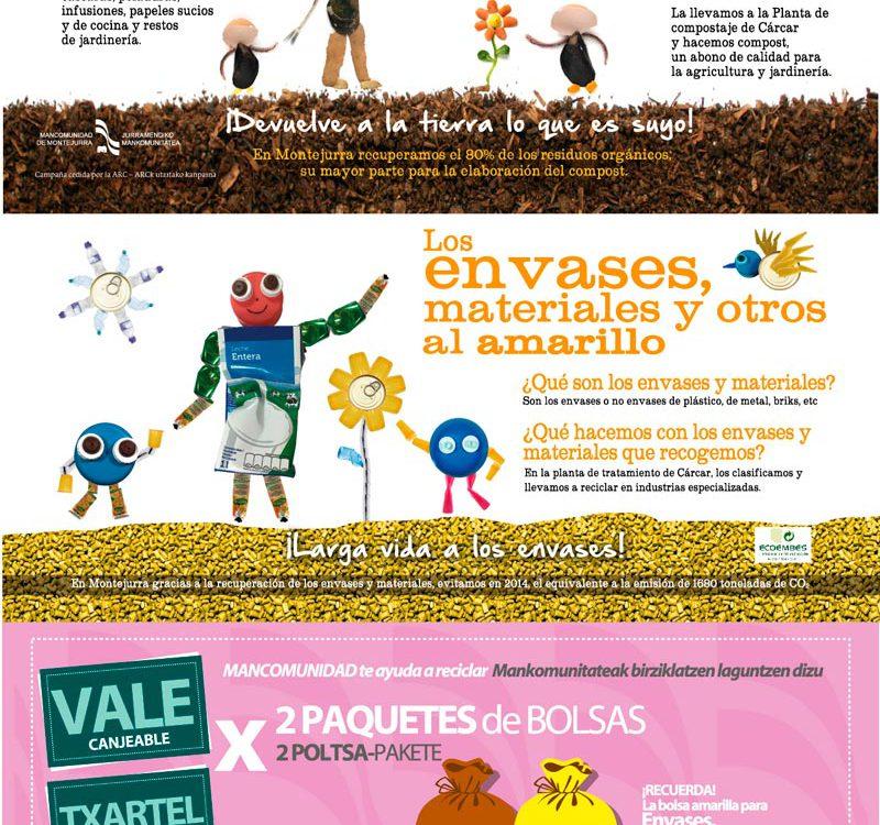 cartel-castellano-la-organica-al-marron-y-los-envases-al-amarillo