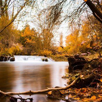 Otoño sobre el Río Urederra